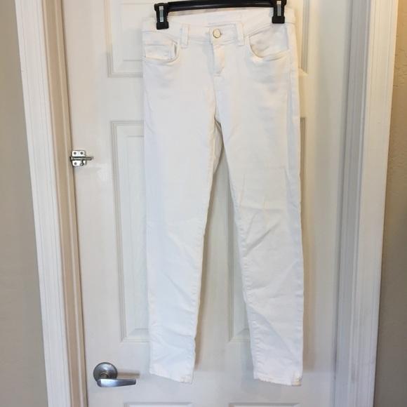 J Brand Denim - J Brand White Skinny Jeans